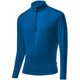 Löffler Basic CF Transtex Sweat-shirt Zip avec col montant Homme, orbit